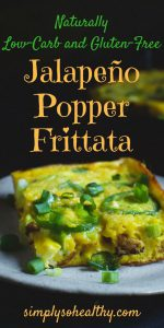 low carb jalapeno frittata