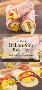 no bun ham-rolled wraps
