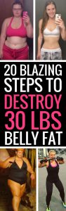 lose belly fat tips