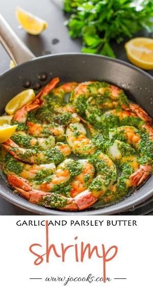 garlic and parsley shrimp