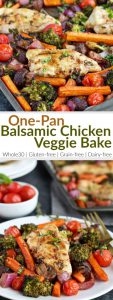 Balsamic chicken with vegetables