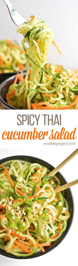 cucumber salad to melt belly fat