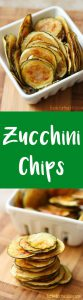 seasoned zucchini chips snack