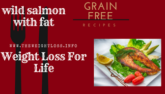wild salmon with omega 3 fat